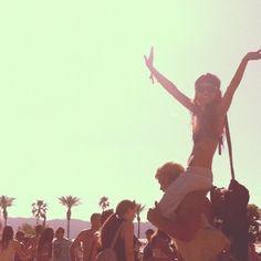 Feel the music #Coachella2013 #ladymarshmallow
