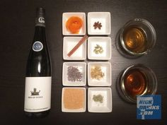 Vermouths of the world are just a wine infused with spices and fortified with high-proof booze. I've was interested in trying my own ever since I came across this post...