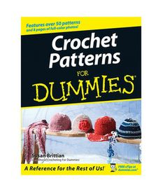 Crochet Patterns For Dummies : books & patterns : needle arts : Shop ...