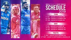 Astrological Predictions for India tour of West Indies, 3 3 ODI, 2 Tests between 03 August - 03 September 2019 Schedule. Astrology Predictions, India Tour, West Indies, Cricket, Cricket Sport