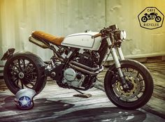 Honda NX650 by Rino Scala of Italy's @cafericycles. Bellissima! #nx650 #caferacer #custombike