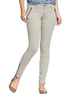 Womens The Rockstar Zip-Pocket Pants