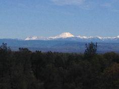 """WunderPhoto """"Lassen from Bella Vista"""" by GPRBellaVista, taken 3/3/15 in Bella Vista, CA, US - found on Weather Underground App"""