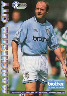 27 August 1993 v Manchester City Drew 1-1