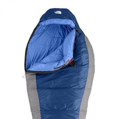 North Face Cat's Meow Sleeping Bag. This bag is warm and comfy!  I haven't tested it in cold weather yet, but I feel like it'll do fine. Although rated to 20F I would probably use it to 30-40F. It's a bit bulky when it's compressed - synthetic fill - but for the price and weight (2.7lbs) I think it's a good option. Learn more at http://www.tiotil.com/content/north-face-cats-meow-sleeping-bag