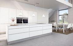 Pure white invita kitchen