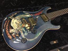 Paul Reed Smith PRS Dragon 2000 Whale Blue Guitar - Guitar Maverick