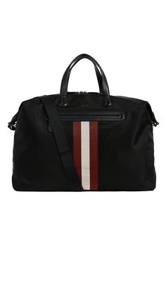 BALLY . #bally #bags #leather #travel bags #nylon #weekend #