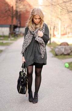 fashion - streetstyle - oversized sweater
