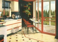 1940s Armstrong kitchen