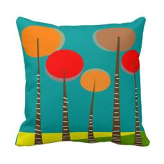Modern Minimalist Pillow Artsy Trees #4 http://www.zazzle.com/modern_minimalist_pillow_artsy_trees_4-189373900653125021?rf=238282136580680600