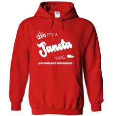 Its a Janeta ๏ thing, you wouldnt understand - T ₪ shirt Hoodie NameJaneta, are you tired of having to explain yourself? With this T-Shirt, you no longer have to. There are things that only Janeta can understand. Grab yours TODAY! If its not for you, you can search your name or your friends name.Janeta,thing,name,shirt,hoodie
