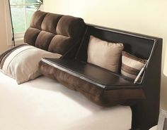 Fresh Cool Headboard Storage King Size Bed #19019