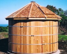 Copy of 6500 gal cistern Rainwater Storage Tanks, Water Catchment, Water Collection, Water Management, Rainwater Harvesting, Water Tower, Water Systems, Water Tank, Backyard