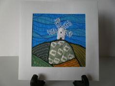 Windmill Hill Textile Art £8.50
