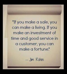 It's all about good Service #MondayMotivation #quote #customerservice