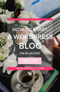 BlueHost Tutorial for WordPress and how to start your blog in a few easy steps.