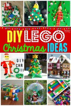Lego Christmas Ornaments, Lego Christmas Village, Christmas Nativity, A Christmas Story, Christmas Crafts, White Christmas, Christmas Bible Verses, Lego Gifts, Christmas Challenge