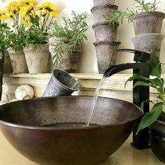 Install a rustic mudroom sink! Washroom, Mudroom, Will Smith, Rustic Decor, Faucet, Serving Bowls, Sink, Tableware, Gardens