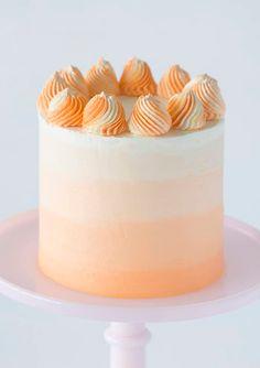 Sweet & Savory Dessert, Drink and Baking Recipes: Preppy Kitchen Orange Creamsicle, Creamsicle Cake, Mini Cakes, Cupcake Cakes, Cupcakes, White Cakes, Orange Cakes, Cute Birthday Cakes, Buttercream Cake