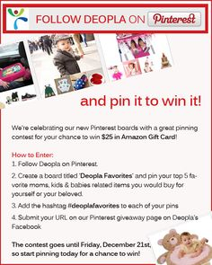 Fashion deals and giveaways