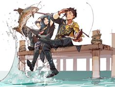 Fire Emblem Byleth and Claude- - Fire Emblem Awakening, Person Icon, Fanart, Fire Emblem Games, Fire Emblem Characters, Blue Lion, Babe, Arte Popular, Poses