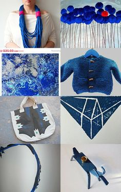 the necklace and the color! >> Frozen Flight.  by Eden Some from Manjuzaka     --Pinned with TreasuryPin.com