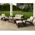 Pacific 6-piece Patio Deep Seating Collection