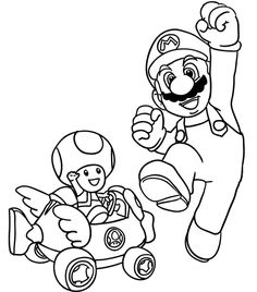 Print Out Coloring Page Mario Printable Coloring Pages For Kids