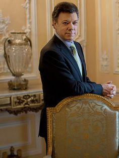 Juan Manuel Santos    President. Photo by Christopher Morris