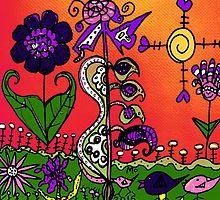 A Birds Life in Mo's Garden by Maureen Zaharie