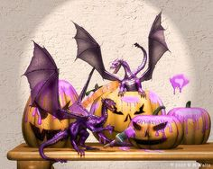Halloween-Dragons