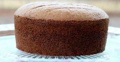 Receita de Pão de Ló de Chocolate