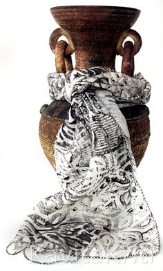 Hand block printed indian scarf. Block print art by KavitaKriti, $30.00 https://www.etsy.com/listing/157812086/hand-block-printed-indian-scarf-block?ref=shop_home_active