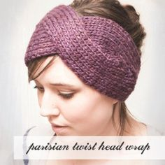 Parisian Twist head wrap- i want to make this. or somebody make it for me!