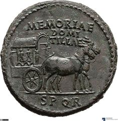 Bronze sesterz AD) Titus in memoria Domitilla - MK-B Antique Coins, Dope Art, Ancient Rome, Coin Collecting, Mythical Creatures, Cool Artwork, Antiques, Education, Animals