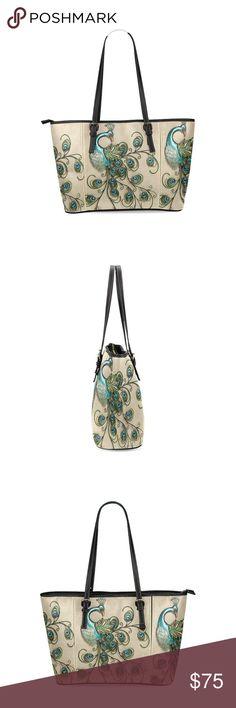 Peacock purse Big purse Bags Shoulder Bags