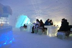 Glamping Review: Snow Hotel   http://glamping.com/blog/glamping-review-snow-hotel/