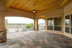 canyon oaks custom home in lago vista mediterranean porch