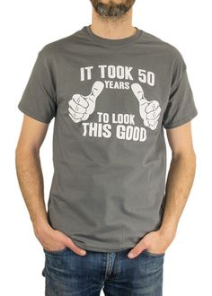 It Took 50 Years To Look This Good TShirt 50th by BumpCovers, $14.99