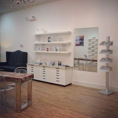 Beautiful new eyecare and optical space at WINK Optique #winkoptique