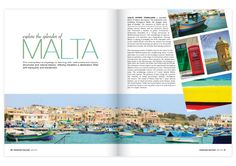 Travel Magazine Layout by Stephanie Guler, via Behance