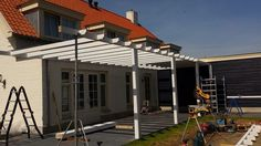 Montage veranda door de veranda vakman. Www.verandaservice.nl