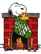 Annimated Snoopy And Woodstock Christmas Clipart - Clipart Suggest Peanuts Christmas, Noel Christmas, Winter Christmas, Christmas Stockings, Christmas Clipart, Christmas Morning, Christmas Wishes, Snoopy Feliz, Woodstock Snoopy