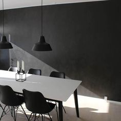 Til gulv, væg, møbler mm. Home Fashion, Chalkboard, Sweet Home, New Homes, Dining Table, Stone, House Styles, Classic, Room