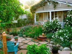 decoracion jardines pequeos frente casa