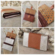 Escourbious L'atelier de Doria sur Instagram: Zoom sur... ⭐️ Le Complice ⭐️ Modèle Sacôtin - 12 portes cartes - 1 poche zippée - 1 porte chéquier - 5 poches plaquées - des…