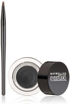 nice Maybelline New York Eye Studio Lasting Drama Gel Eyeliner, Blackest Black, 0.106 oz.