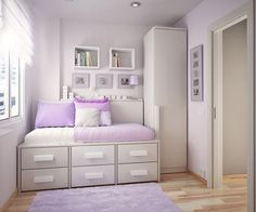 Purple Teen Room Ideas