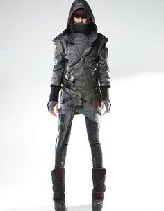 fashion sci fi cyberpunk females futuristic fashion space pirates - Buscar con Google